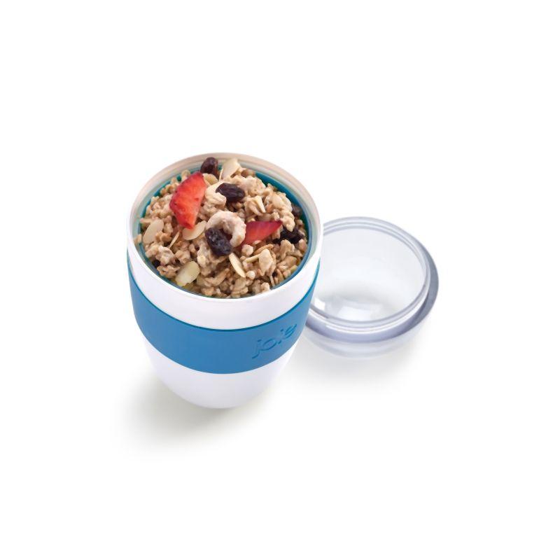 Porta alimentos doble compartimento con cuchara kook for Porta cucharas cocina