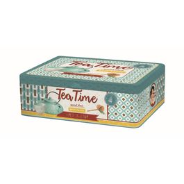Caja Metal para Té/Infusiones - Tea Time